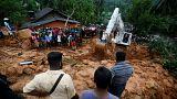 مصرع 5 أشخاص بسبب الأمطار الغزيرة والانهيارات الأرضية في سريلانكا