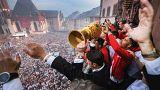 Freude und Frust: Fußball-Feiern in Frankfurt, München und Bern