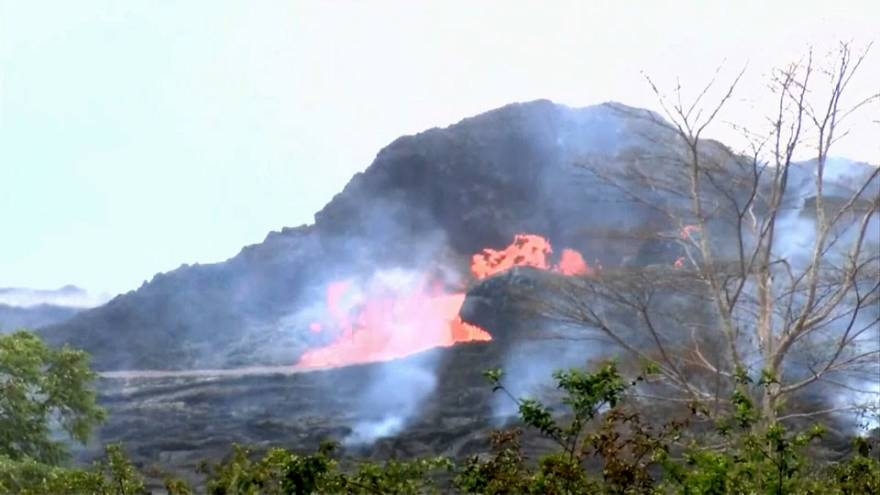 Nube tossica sopra le Hawaii