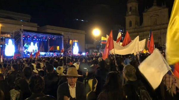 Cierre de campaña electoral en Colombia con denuncias de fraude