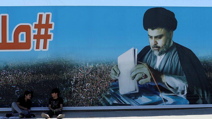 بعد فوزه بالانتخابات البرلمانية العراقية الصدر يلتقي بالعامري الموالي لإيران