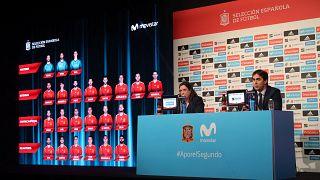 Rueda de prensa del seleccionador Julen Lopetegui