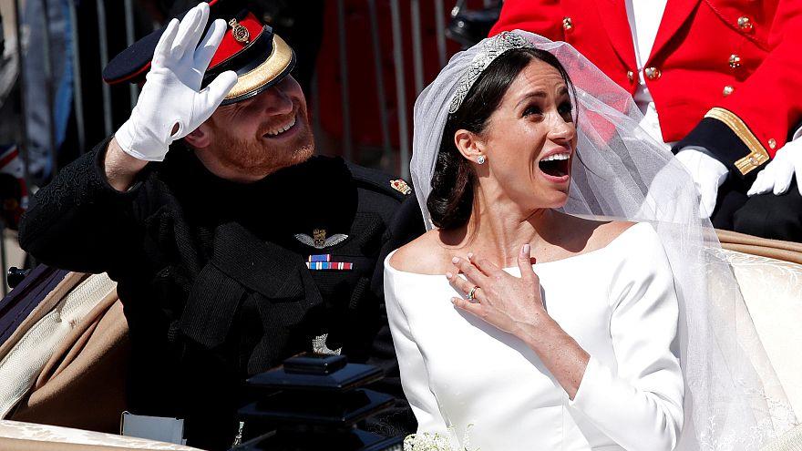 من مراسم الزفاف