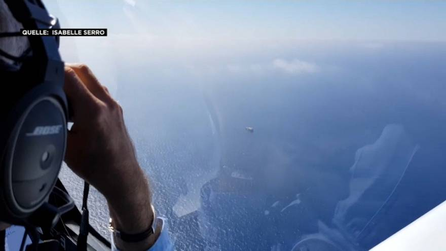"""""""Pilotes Volontaires"""": 2 Piloten beginnen Rettungsaktion im Mittelmeer"""