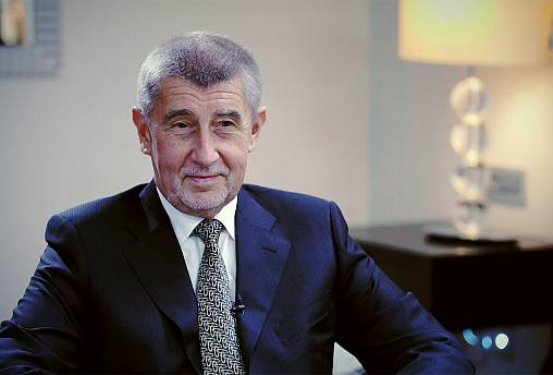 "Andrej Babiš: ""Don't read the fake news"""