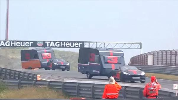 Une course... de caravanes à Zandvoort