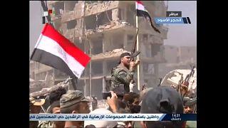 Siria: l'Esercito scaccia i militanti dell'Isis dalla zona sud di Damasco