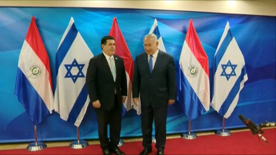 Paraguay sposta l'ambasciata a Gerusalemme