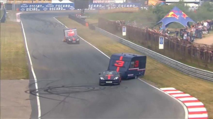 """""""Wohnwagen-Rennen"""": Verstappen und Ricciardo im Duell"""