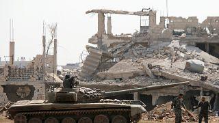Пригороды Дамаска полностью очищены от исламистов
