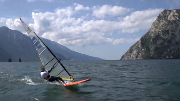 """Adaptive Windsurf"", la disabilità sfida le onde"