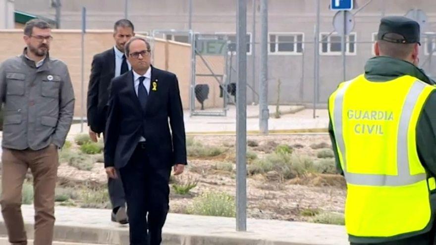 """Rajoy pide a Torra un Govern """"viable"""" para desbloquear la situación en Cataluña"""