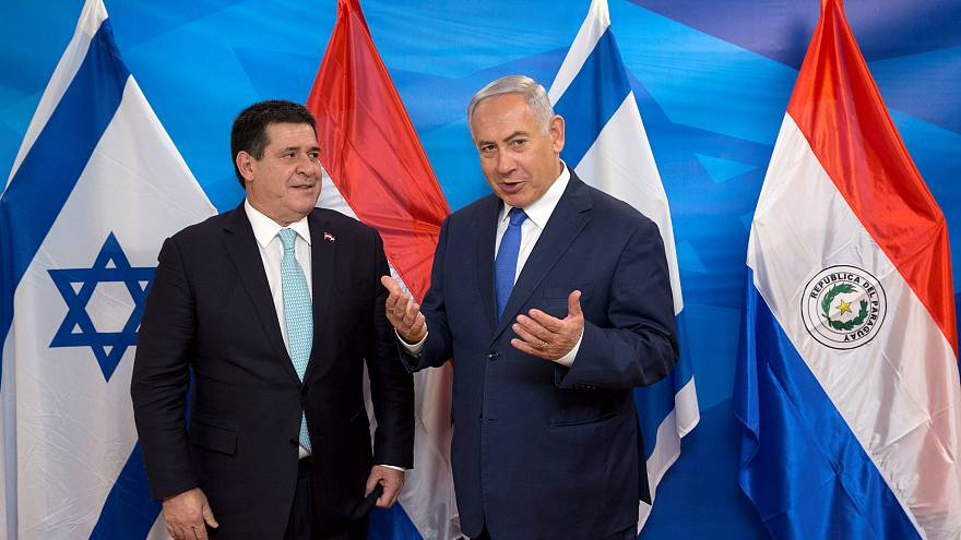 Paraguay abre su embajada en Jerusalén