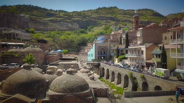 Tiflis: Ort der heißen Quellen