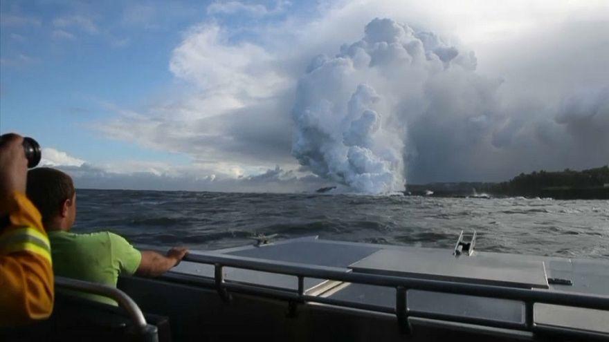Vulkan auf Hawaii: Gefährliches Gas im Pazifik