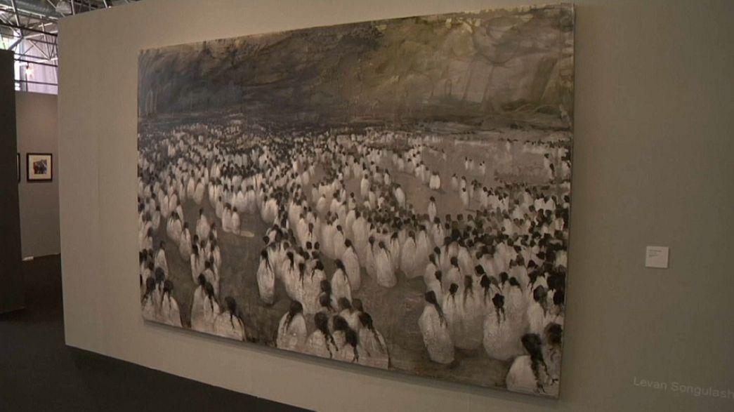 Tbilissi a sa foire d'art contemporain