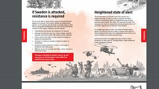 Sweden distributes 'be prepared for war' leaflets to homes