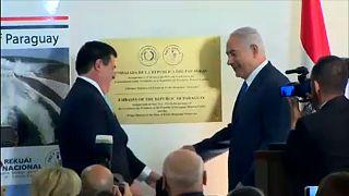 Paraguay nagykövetsége is Jeruzsálemben