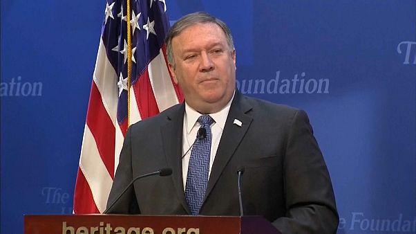 US-Außenminister Mike Pompeo kündigt harte Sanktionen gegen Iran an