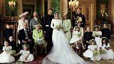 هاري وميغان ينشران الصور الرسمية للزفاف الملكي من قلعة وندسور
