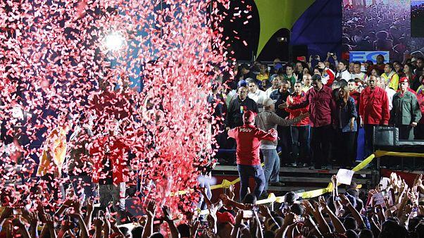 پیروزی نیکولاس مادورو در انتخابات ونزوئلا