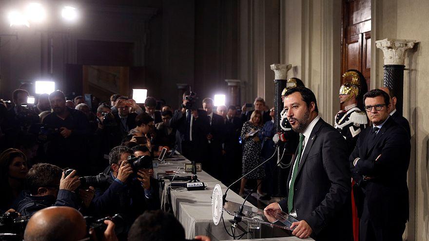 """Italie """"antisystème"""" : Bruxelles craint une nouvelle crise de l'euro"""