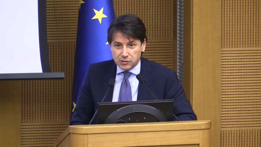 El M5S y la Liga proponen al jurista Giuseppe Conte para gobernar Italia