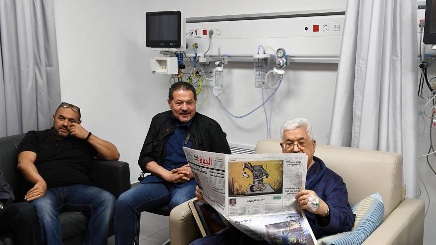 Abbas 'suffering from pneumonia but improving'