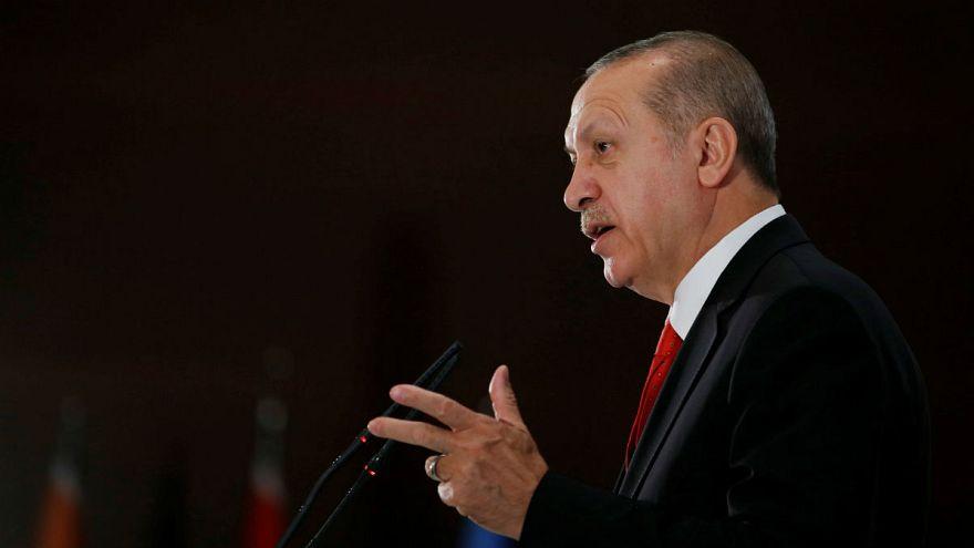 اردوغان: تهدید، کشورهایی هستند که ۱۵ هزار کلاهک هستهای دارند