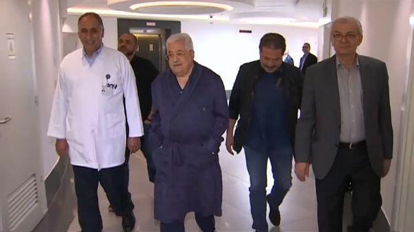 Palestina, migliorano le condizioni del presidente Abbas