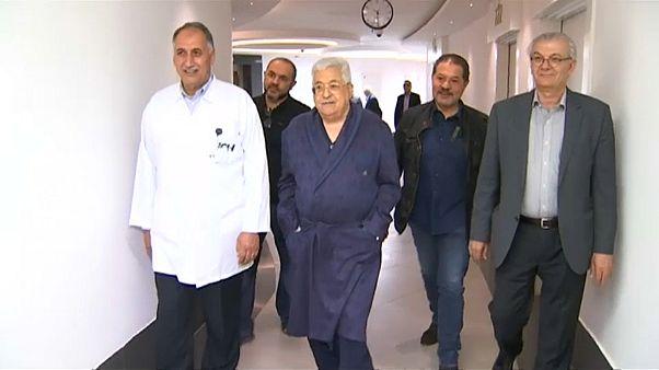 Mahmud Abbas'tan hastane görüntülü iyiyim mesajı
