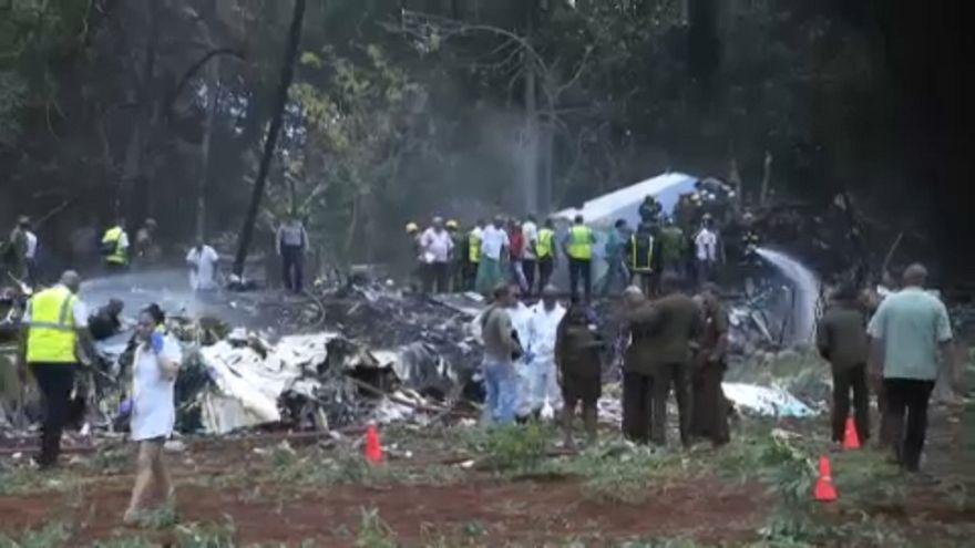 Acidente aéreo em Cuba