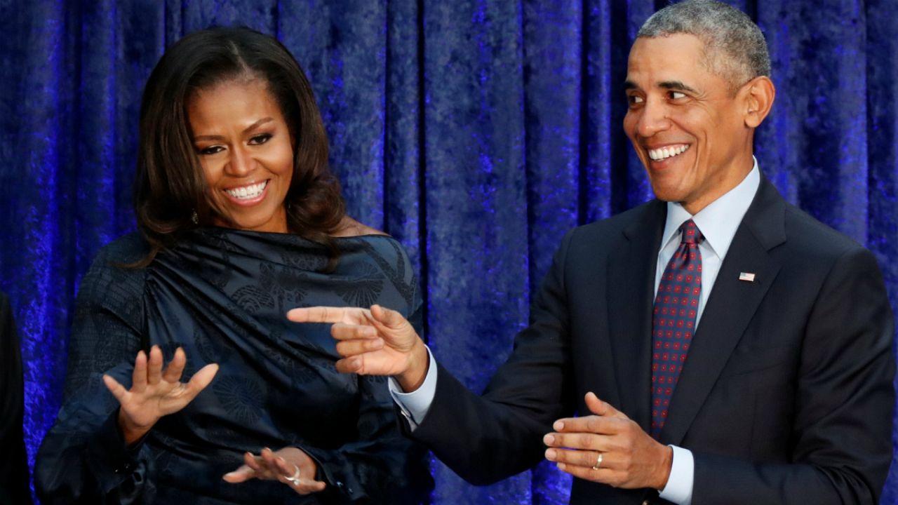 Michele e Barack Obama vão produzir conteúdos para o pequeno ecrã