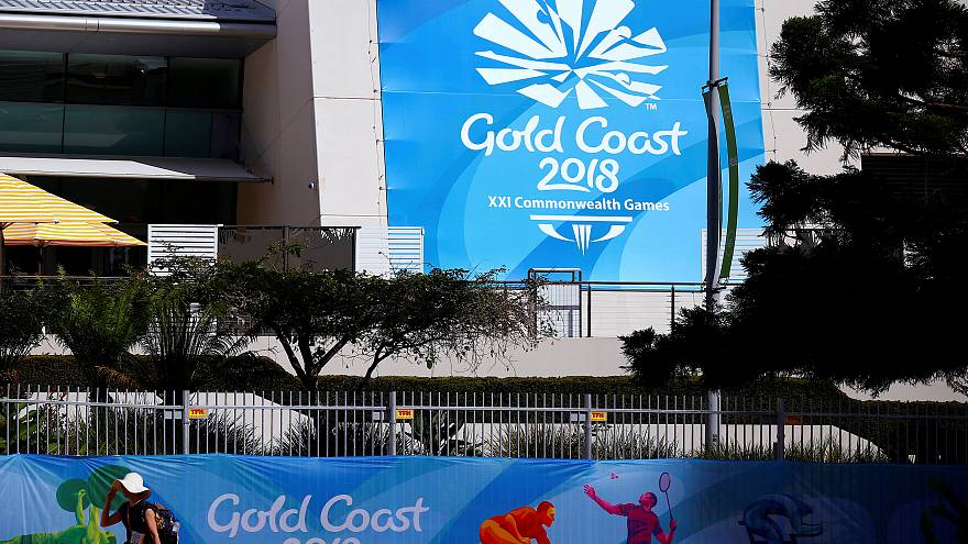 Commonwealth-Spiele an der Gold Coast in Australien, 3. April 2018.