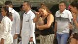 Relatives of Cuba plane crash victims collect their loved ones' possessions