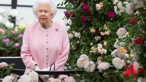 La reine d'Angleterre au Chelsea Flower Show