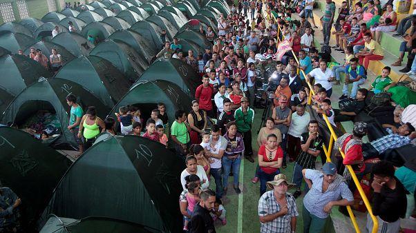 Una presa amenaza con romperse en Colombia: 25.000 evacuados