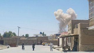 انفجار بمب در قندهار افغانستان دستکم ۱۶ کشته برجای گذاشت