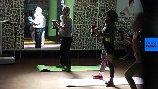 Νεαρές Αφγανές πηγαίνουν γυμναστήριο με ρίσκο την..ζωή τους!