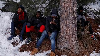 Migrants in the Alps: The dangerous trek to a new life