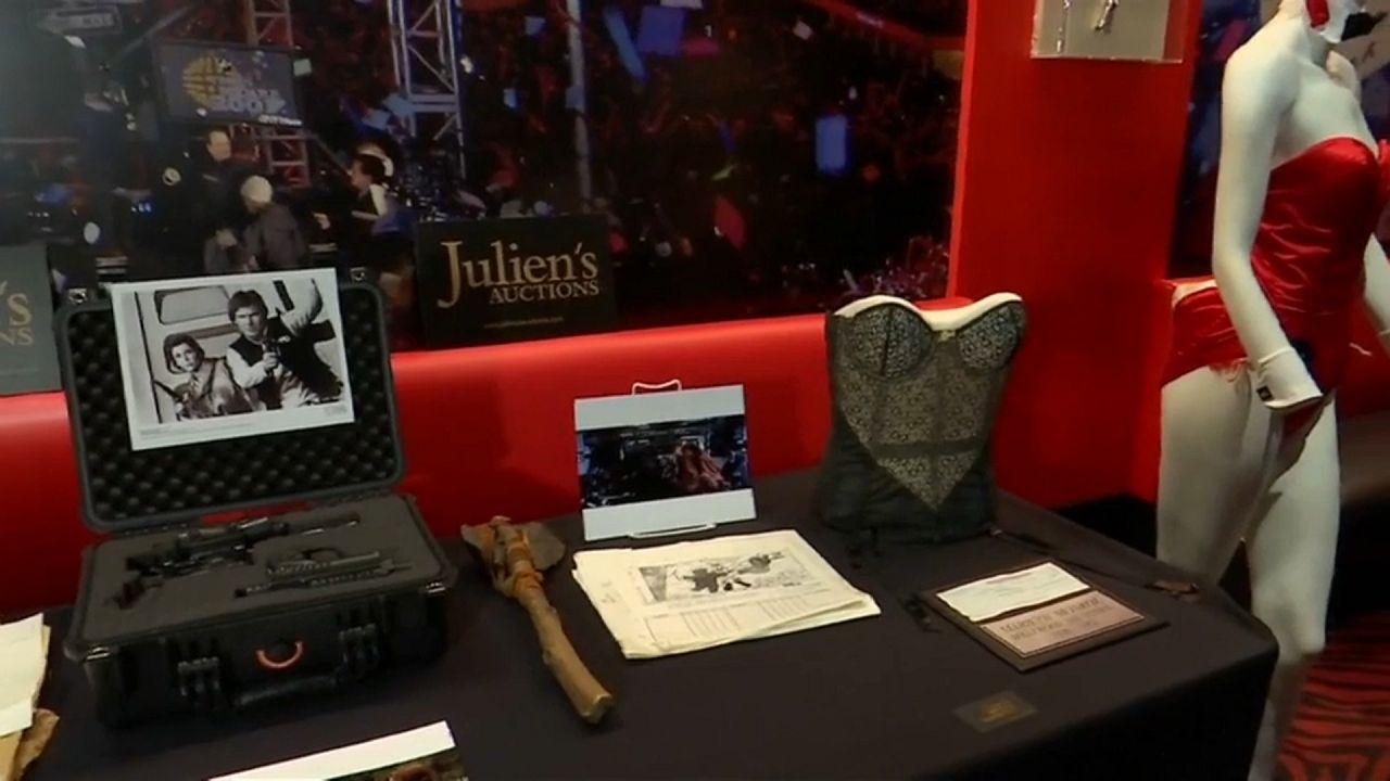 Objetos do comediante norte-americano Jerry Lewis em leilão