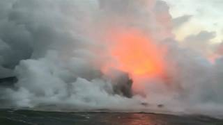 Deadly acid cloud over Hawaii after volcano eruption