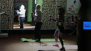 La lucha de las mujeres por ir al gimnasio en Afganistán