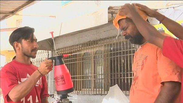 Смертельная жара в Карачи