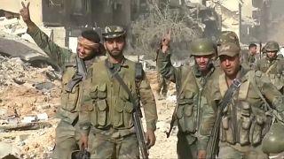 اثناء دخول قوات الجيش للحجر الأسود
