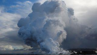 Hawaï : les nuages toxiques du volcan Kilauea