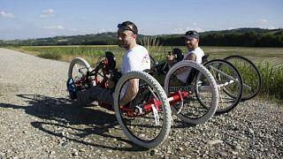 تلاشهای دو مخترع معلول ایتالیایی برای تغییر نگرش جامعه نسبت به معلولان