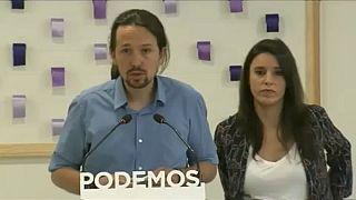 Pablo Iglésias e Irene Montero