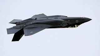 An Israeli Air Force F-35 fighter jet