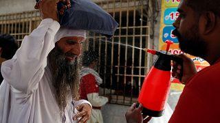 Halálos áldozatokat szed a hőhullám Pakisztánban